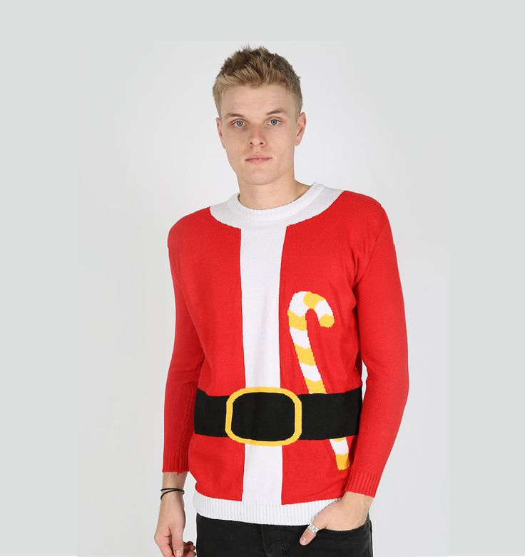 Get the latest santa suit christmas sweater for your party.   Ugly sweater for the Christmas party! Collection of Christmas santa sweaters and Xmas jumpers for both men and women for the ugly sweater party day At uglychristmassweatersale.com  Ugly Christmas sweater, Christmas sweater, party costume, diy Christmas, tacky, funny, cheap ugly sweater