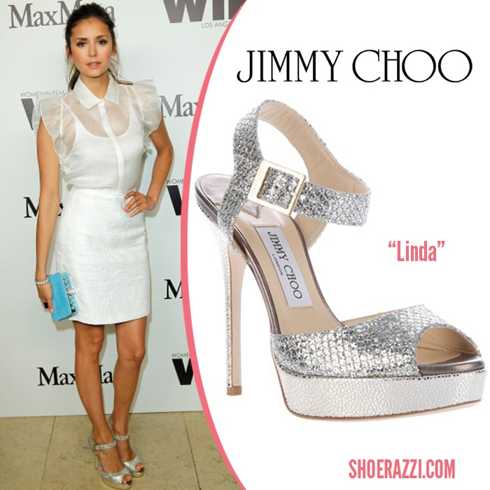 Nina Dobrev in Jimmy Choo