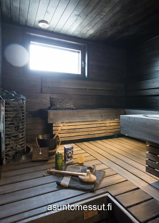 38 Rock-kivitalo Villa Aletta - Sauna   Asuntomessut