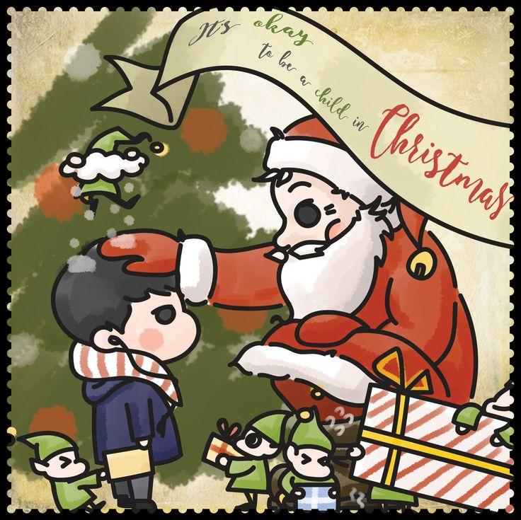 크리스마스야 보검해 161224 [ 출처 : 라이트팬 https://twitter.com/BG061/status/812674288226422786 ]