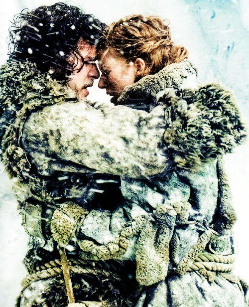 """ Inside Game of Thrones: Season 3 & 4 — Jon Snow & Ygritte """