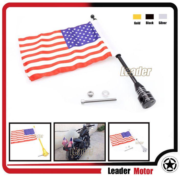 motorcycle flag holders