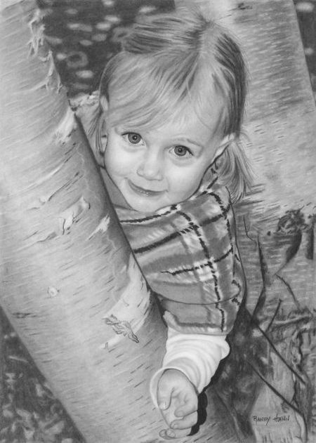 Great pencil drawings by Randy Hann