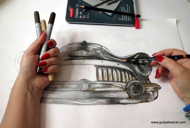 derwent #art#artist#artfido#epoxy#gulipeksanat#drawing#çizim#tuval#kanvas#buick#classicauto#talent#galleri#otomobil#creative#sketch#pencil#collection#americanmusce#pencilart#derwent#blackpencil#resinart#archespaper#drawingoftheday#sketchoftheday#cars#oldsmobile#roadmaster#pencildrawing