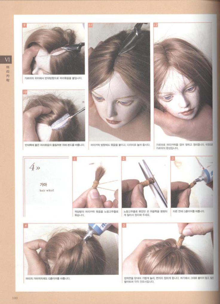 ~ как клеить кукле волосы . Обсуждение на LiveInternet - Российский Сервис Онлайн-Дневников