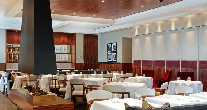 Roberto's Restaurant, home of award-winning dining, was just one of the three full-service restaurants in Rehberg's world class hotel.