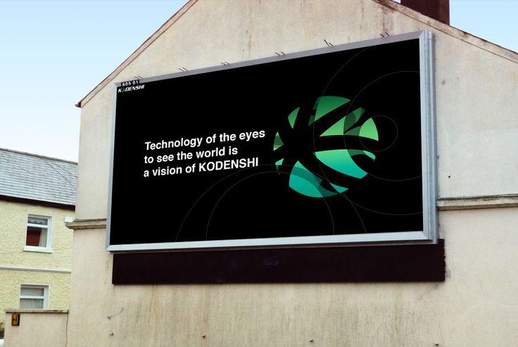 KODENSHI Rebranding on Behance