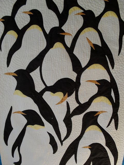 Jessica quilting Studio 2009 - very Escher like image. Well executed.