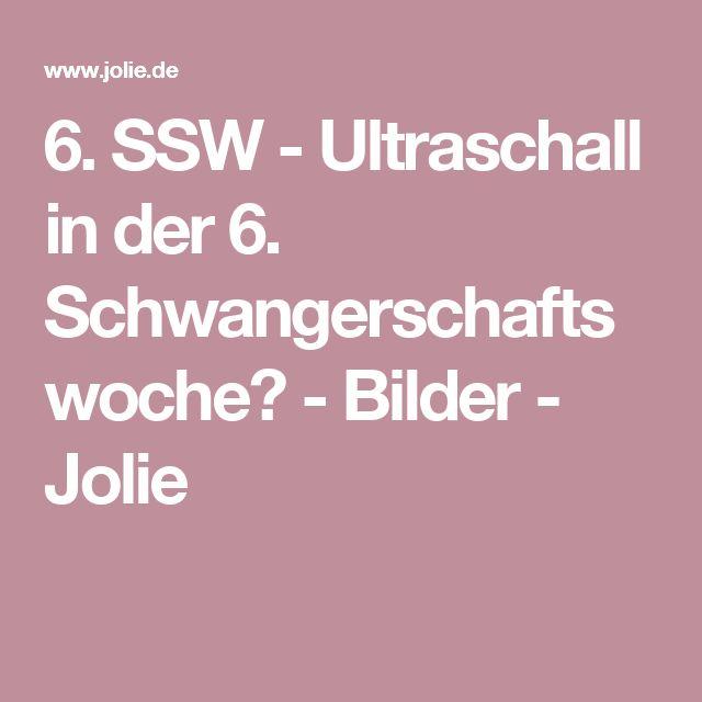 6. SSW - Ultraschall in der 6. Schwangerschaftswoche? - Bilder - Jolie