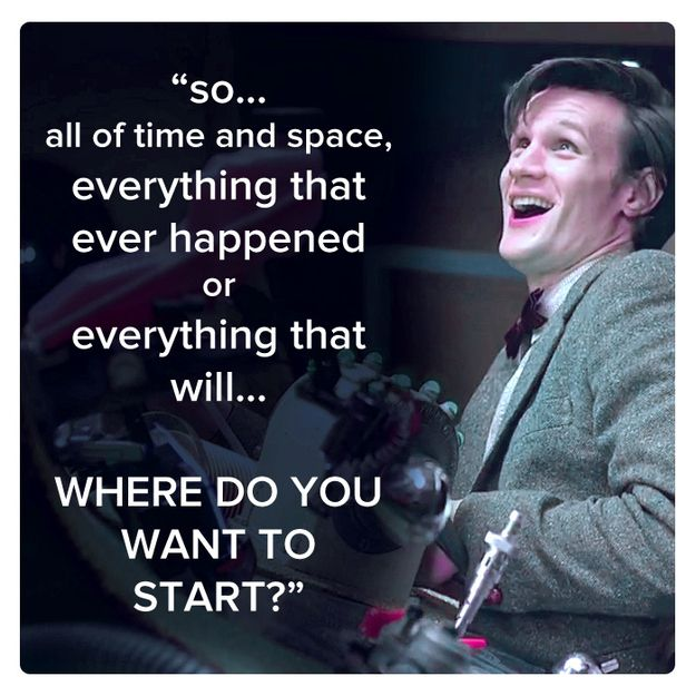 Doctor Who Matt Smith Quotes Community Post: 11 Bes...
