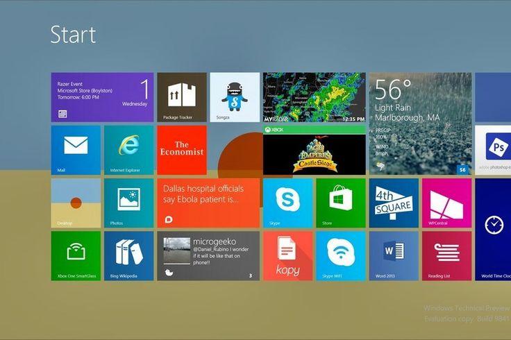 Windows 10: Cum aducem înapoi ecranul de start din Windows 8