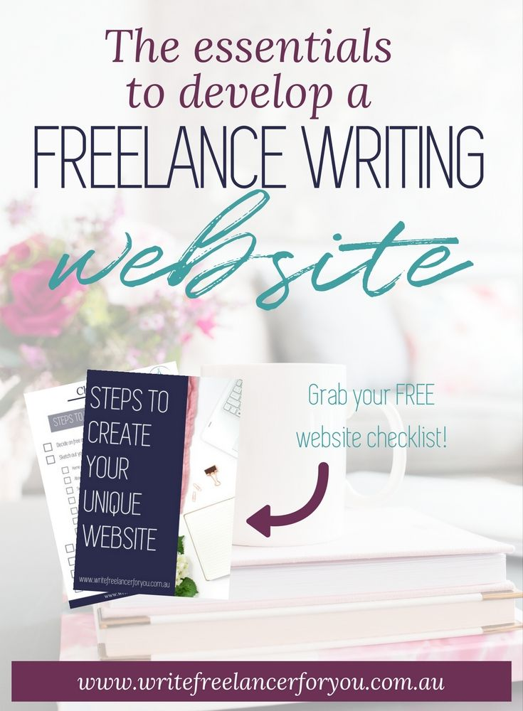 freelance writing website, how to design your website, what should go on your website