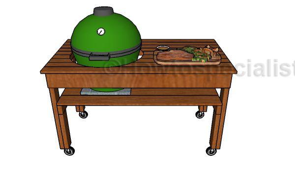 Build a big green egg table                                                                                                                                                                                 More