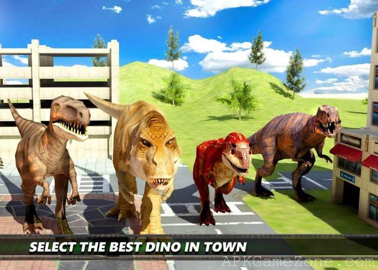 Dinosaur Simulation 2017: Dino City Hunting : Money Mod : Download APK