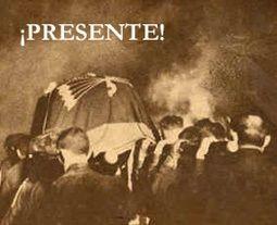 Mourners Carry the Coffin of José Antonio Primo de Rivera.