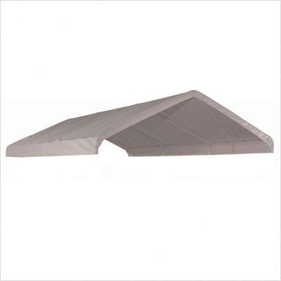 """Canopy Replacement Cover for 2"""" Frame Size: 12' W x 30' D, Color: White by ShelterLogic. $133.92. 10149 Size: 12' W x 30' D, Color: White Features: -Canopy White Replacement Cover 2'' Frame.-Part Number: 10049. Dimensions: -Dimensions: 20' L x 12' W.-Weight: 16 lbs."""