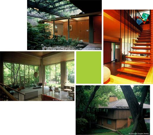 22 best 1950s retro architecture images on pinterest for Mid century modern homes dallas
