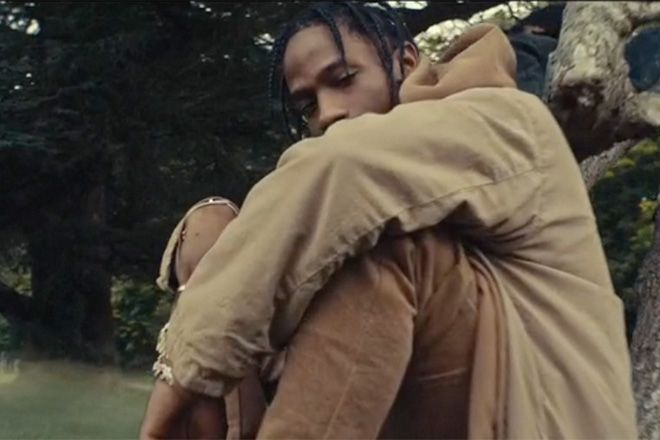 Music Video: Travis Scott - Piss On Your Grave (feat. Kanye West) | HUH.