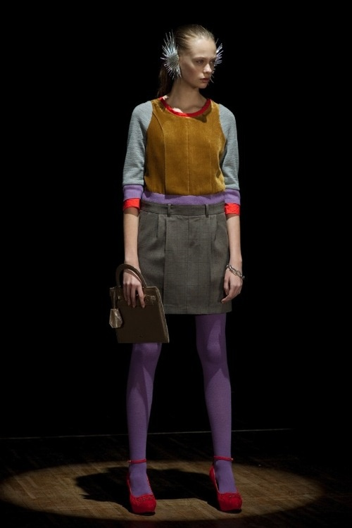 "UNDERCOVER ""Psycho Color""  2012-13 a/w   Fashionsnap.com"
