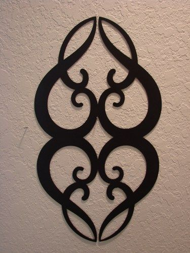 Ornamental Heart Metal Wall Art | Metalheadartdesign - Metal Craft on ArtFire