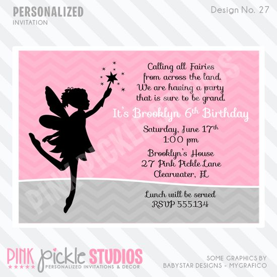Fairy birthday party invitation wording fairy tea party printable invitation 103 best images about party invitations on pinterest stopboris Choice Image