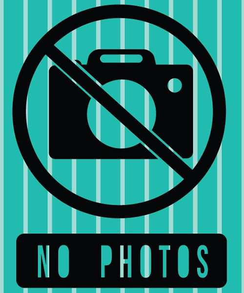 Parche NO PHOTOS. Para personalizar tu ropa o complementos molones. Crea tu propia moda mini me. #MimetteShop