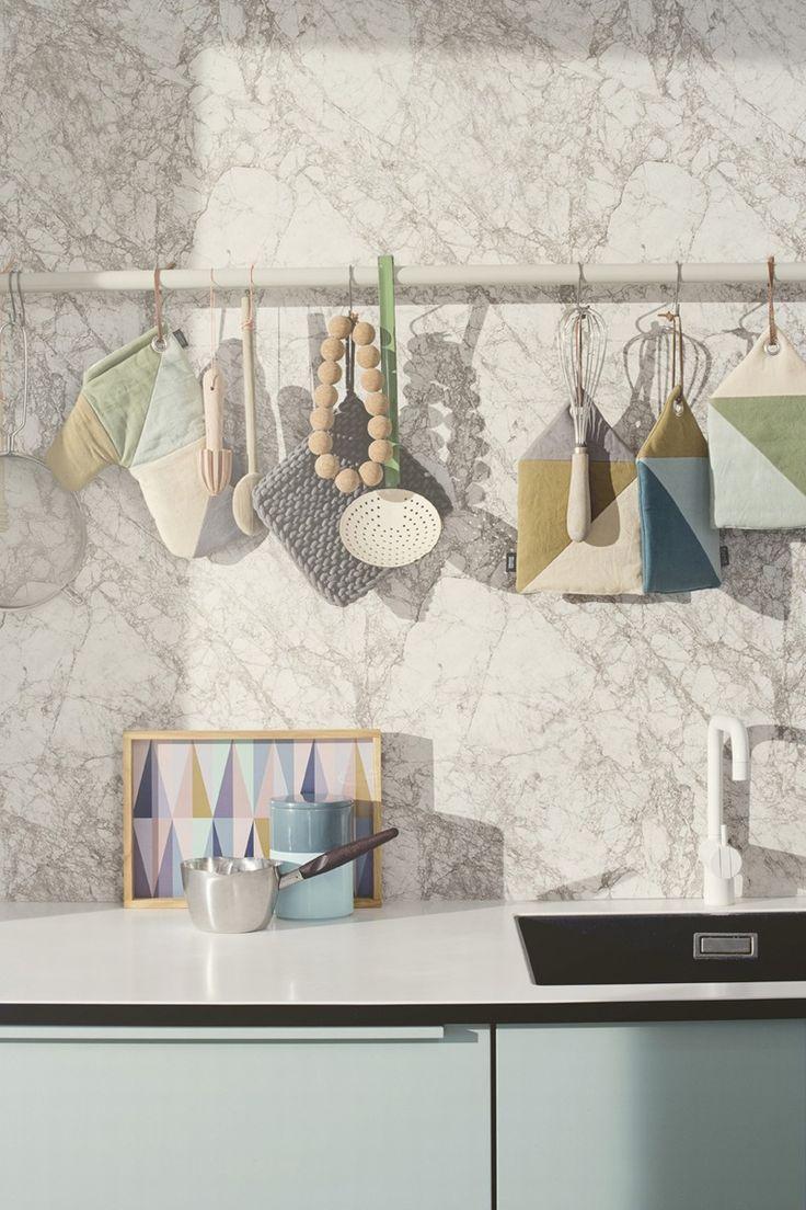 Papier-peint Marble par Ferm Living