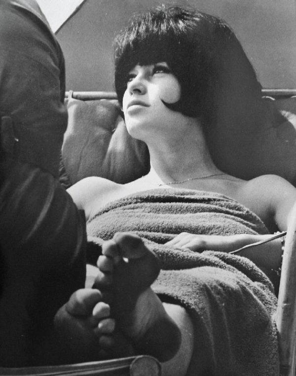 Tazio Secchiaroli  Dirty Feet (Bardot on the set of Le Mepris).1963.