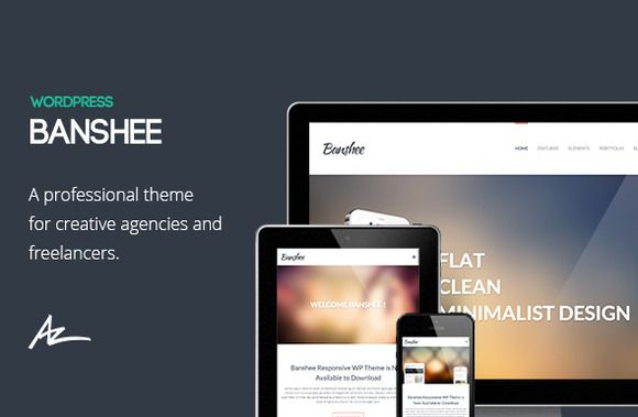 Check out Banshee: Portfolio Wordpress Theme by Bluxart on Creative Market