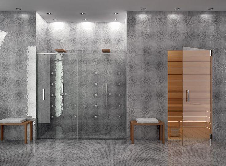 Oltre 25 fantastiche idee su cabine doccia su pinterest for Idee di estensione a livello diviso