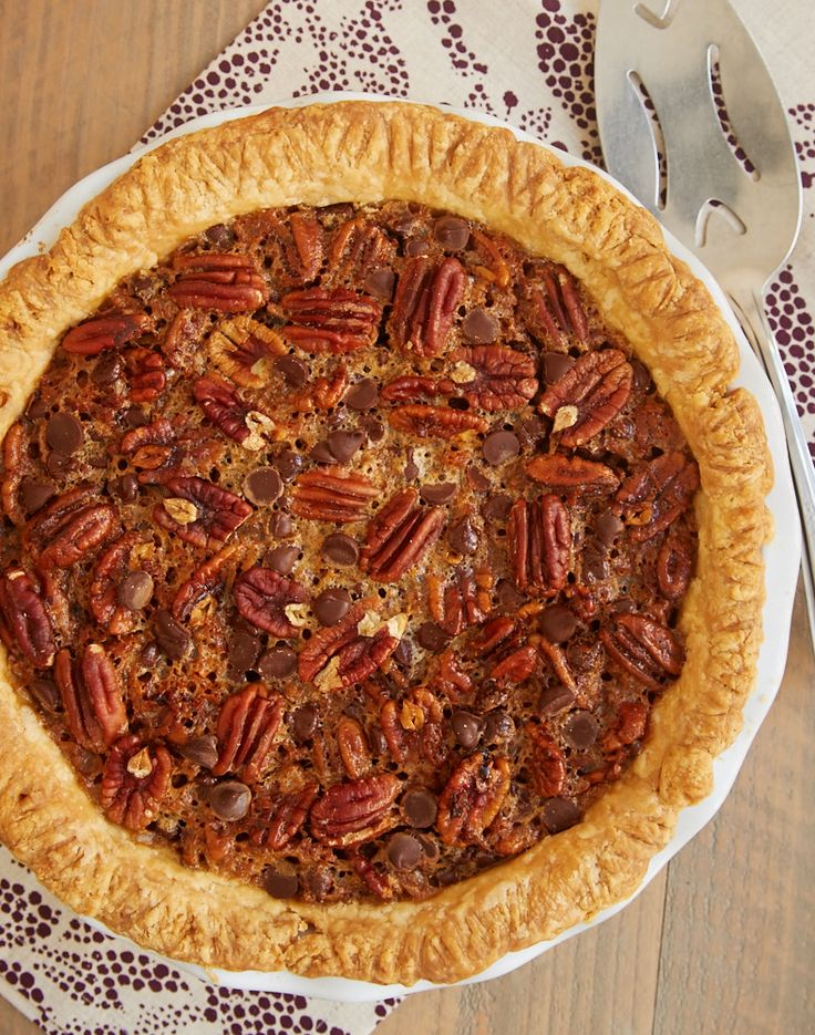 1000 images about pies recipes cheesecake on pinterest for Chocolate coconut pecan pie recipe