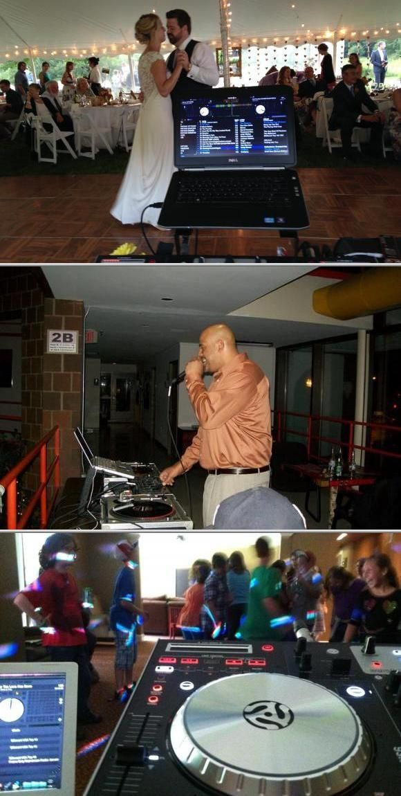 Jomo King owns a mobile DJ business that has been in operation over the past 20 years. He sends out his best local DJs for weddings, talent shows, clubs, house parties, and more. View more photos and reviews for this wedding dj.
