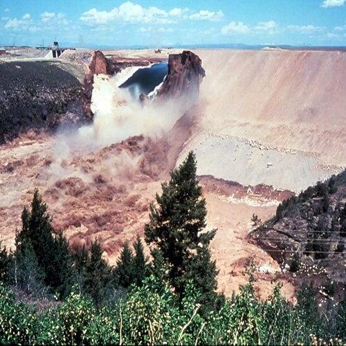 Teton Dam Collape June 1976