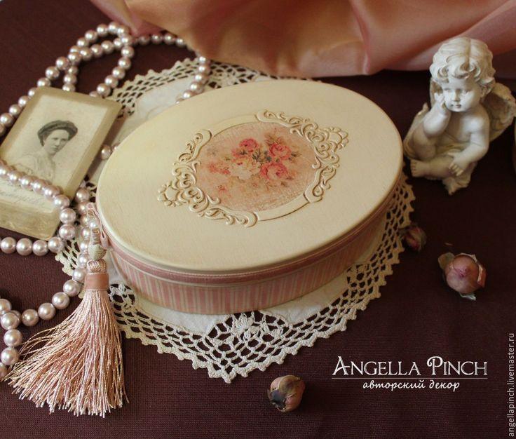 Купить или заказать Шкатулка 'Розовый флёр' в интернет-магазине на Ярмарке…