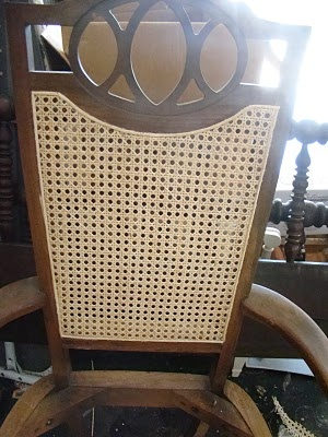 ReCaning a Chair  howto  DIY  Crafts  Chair
