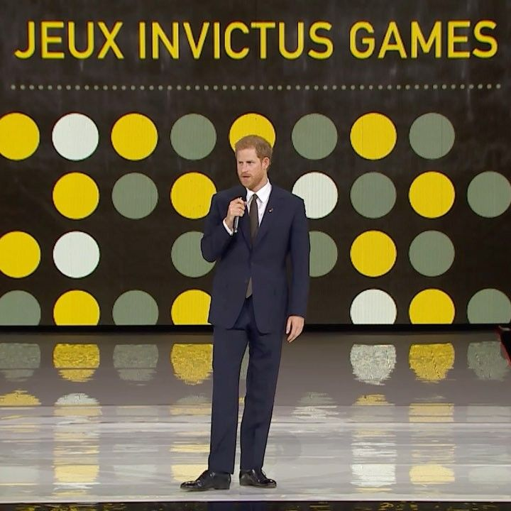 """Prince Harry tells crowds at Opening Ceremony of @invictustoronto to get ready to be inspired by…""😍😍😍💗💗💗..always so inspiring his speeches!!!!😍😍💗👏👏👏👏👏👏👏"