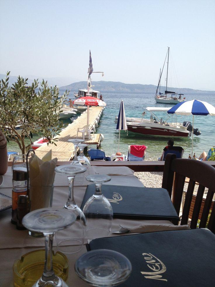 Agni taverna, Agni, Corfu