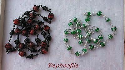 Τα daphnofila δημιουργούν: Μόνο σύρμα και χάντρα!!!!