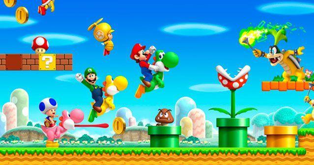 Imagenes De New Super Mario Bros Wii Imágenes En Taringa Mario Bros Super Mario Birthday Super Mario Bros