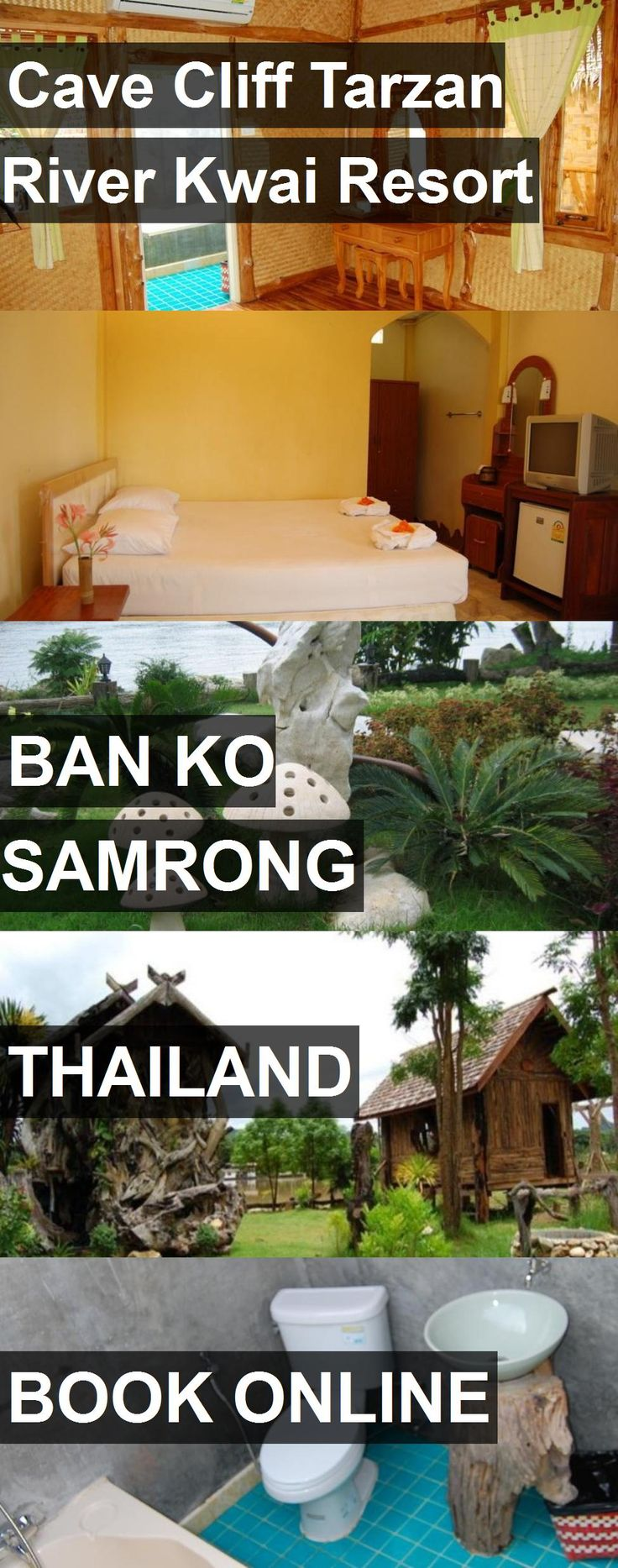 Hotel Cave Cliff Tarzan River Kwai Resort in Ban Ko Samrong, Thailand. For more information, photos, reviews and best prices please follow the link. #Thailand #BanKoSamrong #CaveCliffTarzanRiverKwaiResort #hotel #travel #vacation