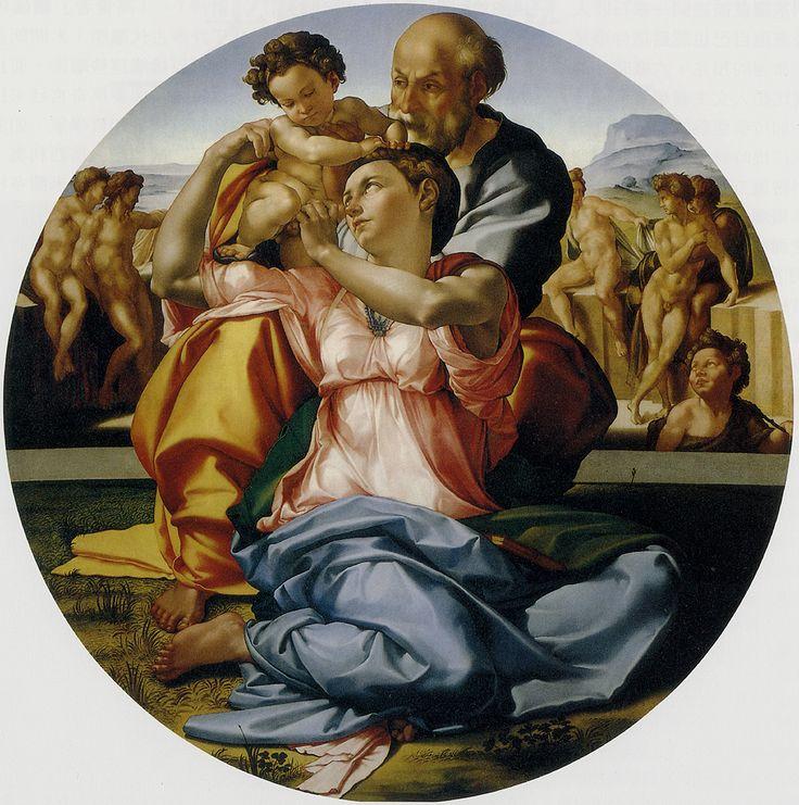 La Sagrada Familia, de Miguel Angel Buonarroti