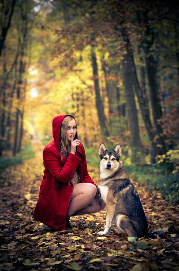 Photo Red Riding Hood by Freesia nocte on 500px