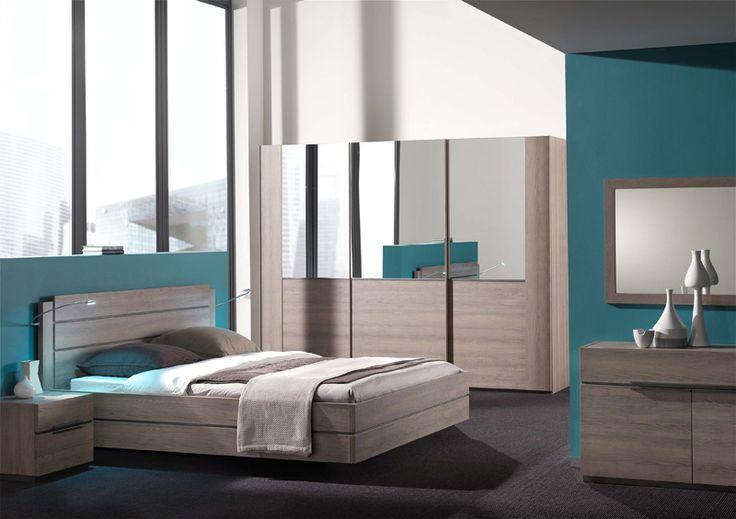 ARCHI - trendy slaapkamer vervaardigd uit spaanderplaten   Meubelen Crack