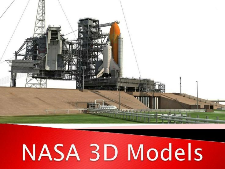 nasa 3d models include kennedy space center launch complex