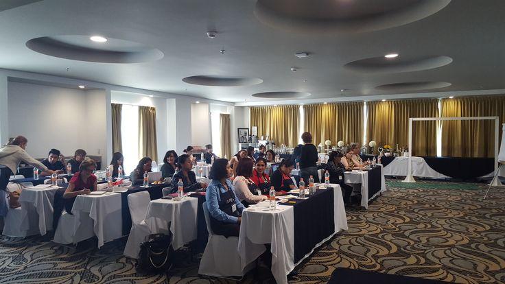 Sesionando Curso de Candy Bar en Querétaro