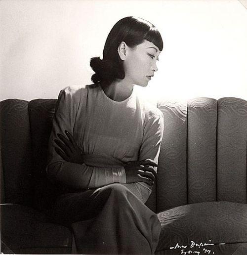 Max Dupain (...reminds me of Anna May Wong...)