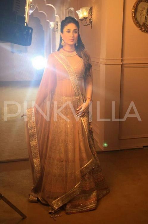 Royal Beauty! Kareena Kapoor Khan looks mesmerising during an ad shoot…