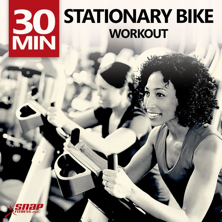 30 Stationary Bike Workout Going to try this next time...
