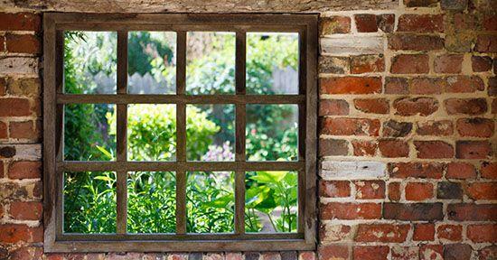 Finestra in giardino