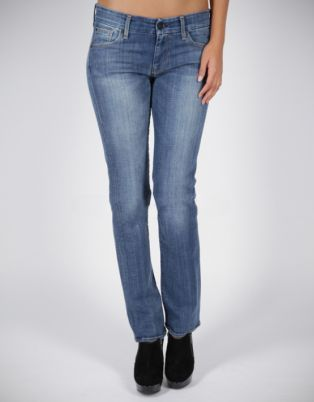 7 For All Mankind Kimmie Straight Leg Blue